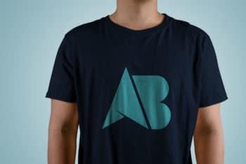 Free T-shirt PSD Mockup