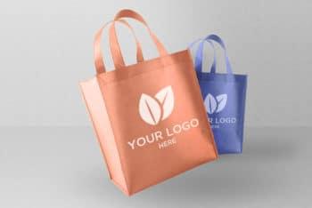 Free Eco-friendly Shopping Bag Mockup