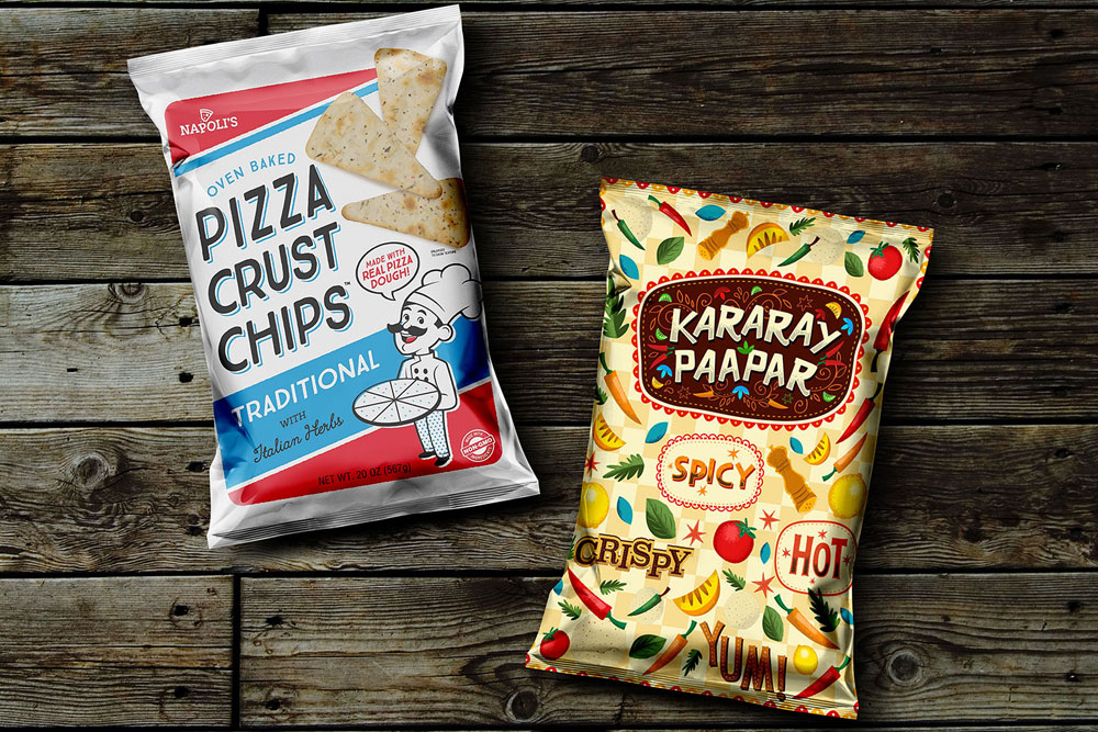 free snack pack mockup