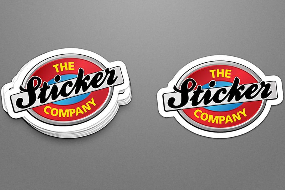 free sticker mockup