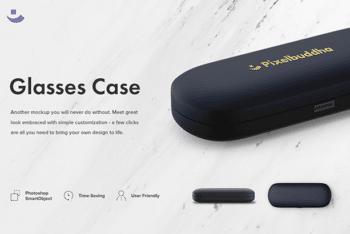 Glasses Case PSD Mockup – Sleek Design & Attractive Look