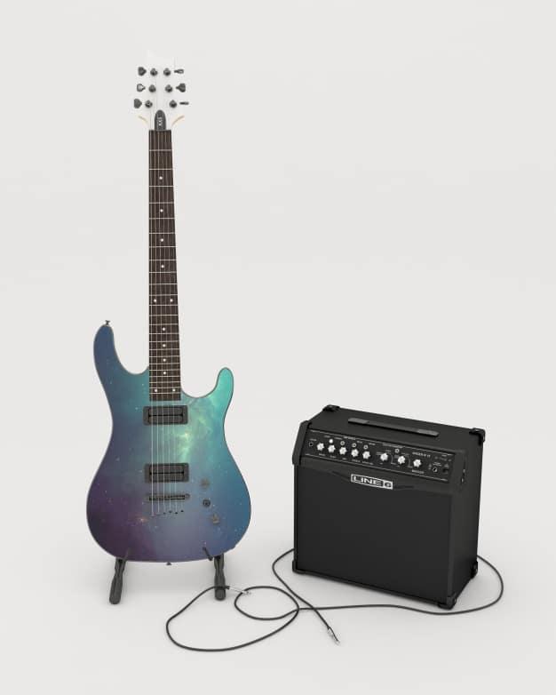 Electric Guitar Mockup