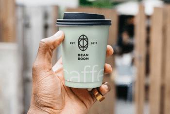 Useful Design of Coffee Cup PSD Mockup