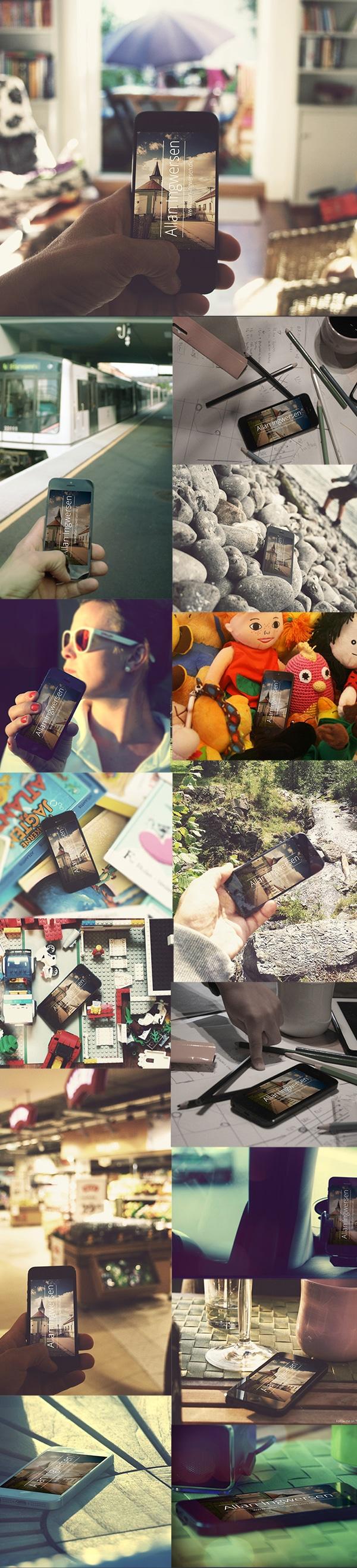 iPhone Photography Mockups