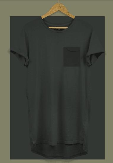 Longline T Shirt Psd Mockup Free Download Designhooks