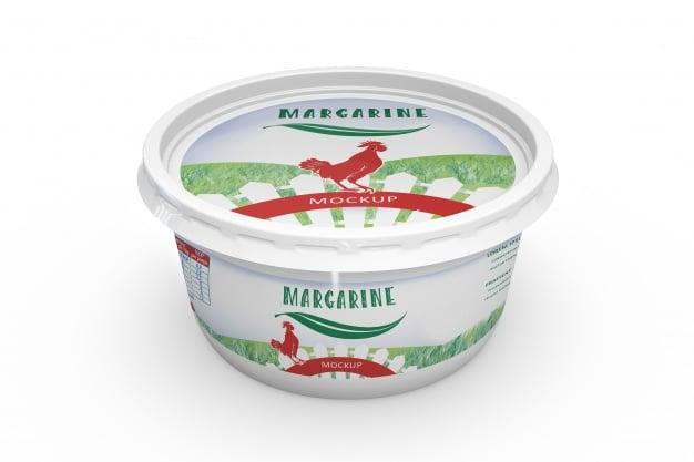 Margarine Pack Mockup