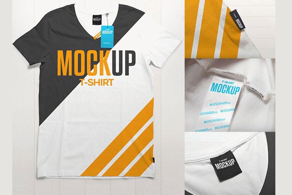 men shirt mockup