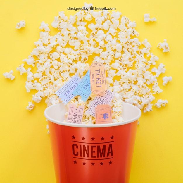 Movie Tickets Plus Popcorn