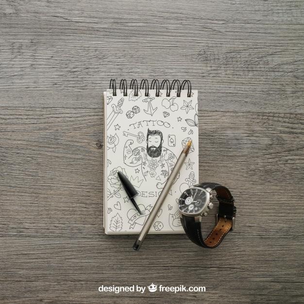 Notepad Plus Wristwatch