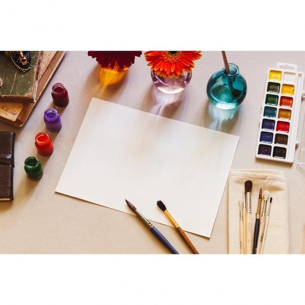 Painting Session Mockup