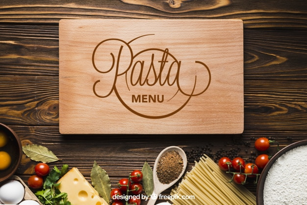 Pasta Cooking Plus Wooden Board