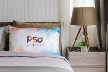 Pillow Mockup Free PSD
