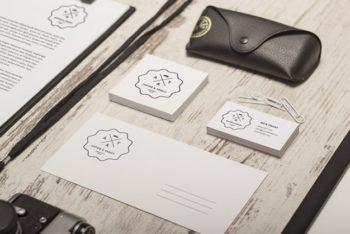 Free Classy Identity Branding Mockup in PSD