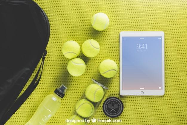 Tennis Balls Plus Tablet