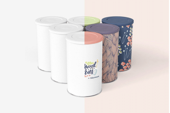 Tin Canister PSD Mockup Download for Free