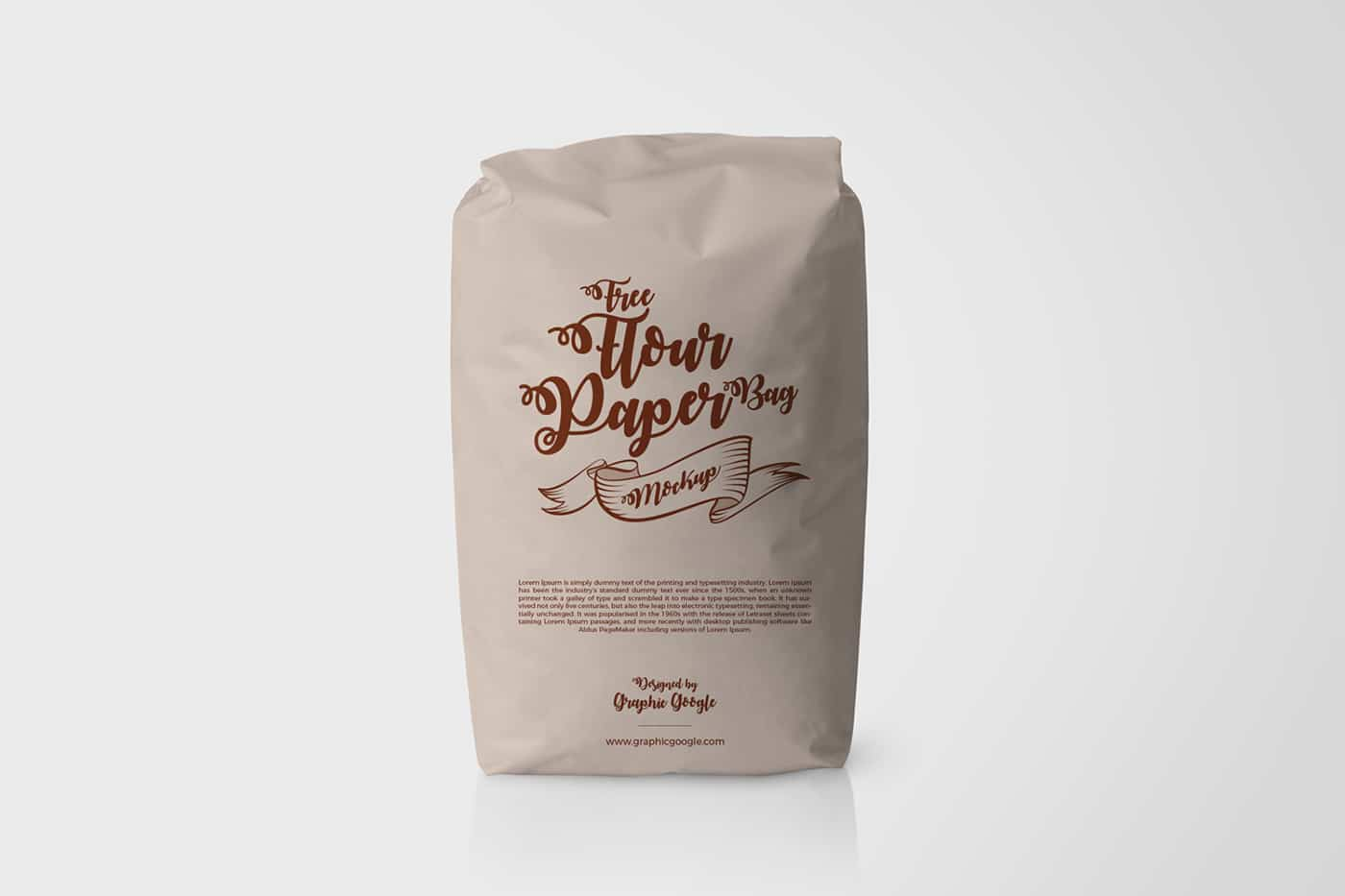 Flour Paper Bag