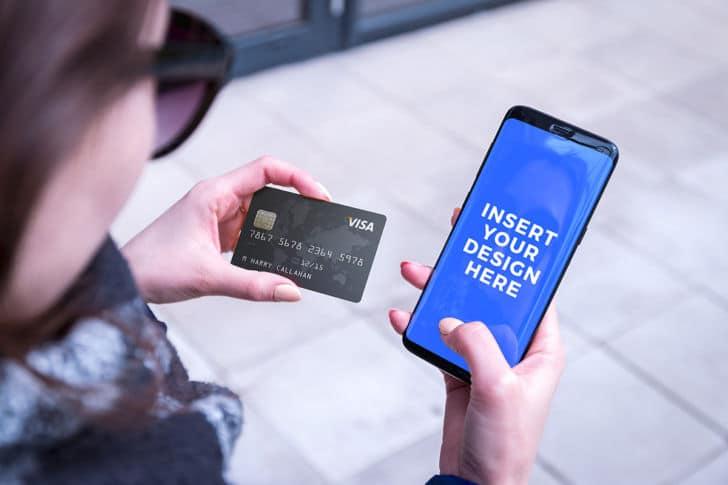 Smartphone Online Transaction