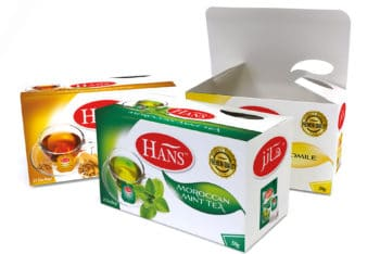 Free Hans Flavour Tea Packaging Mockup