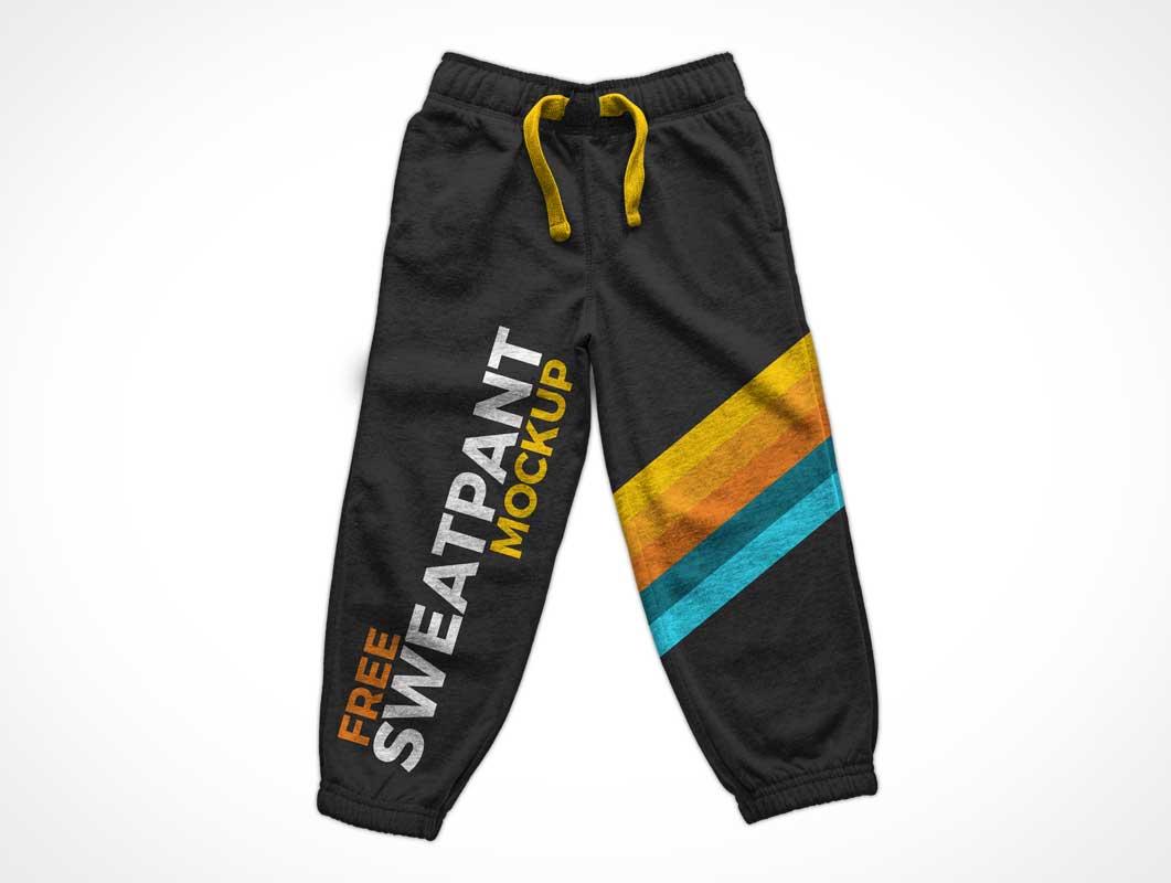 Athletic Sweatpants Mockup