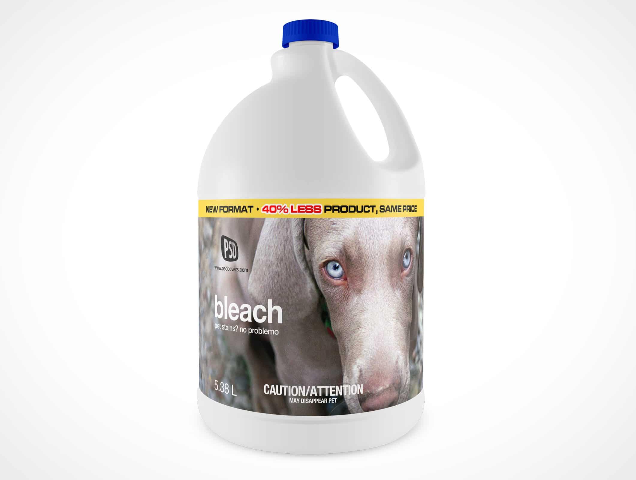 Large Bleach Bottle