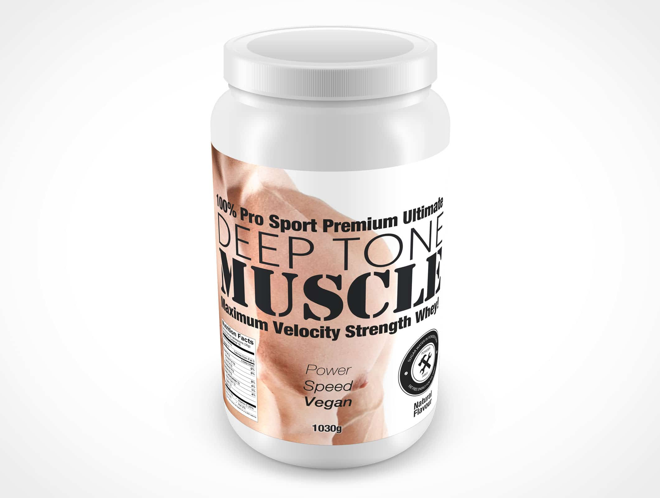 Protein Whey Container