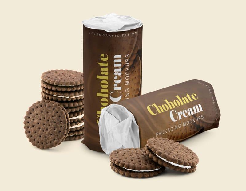 Chocolate Cookies Packaging
