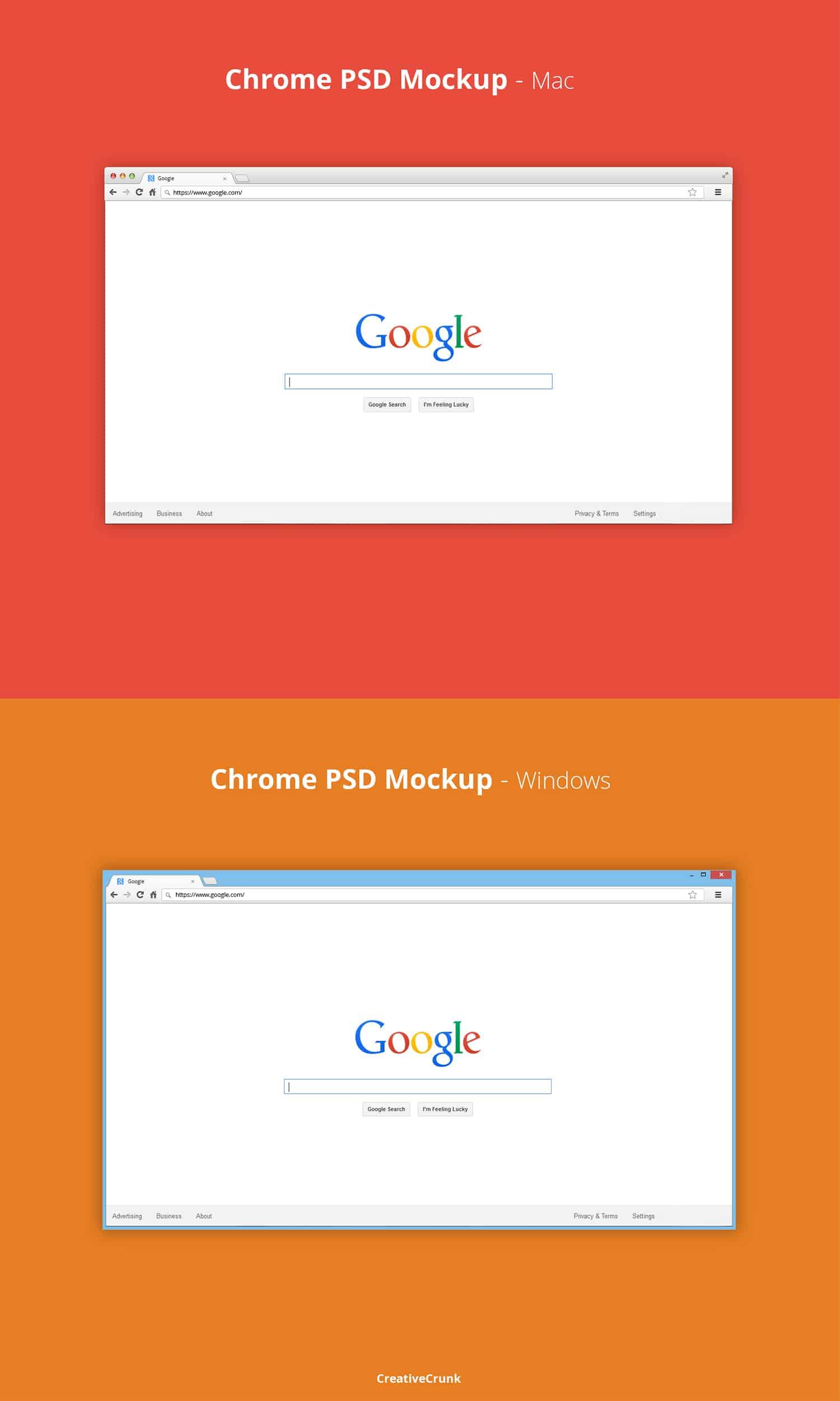 Chrome Browser Desktop