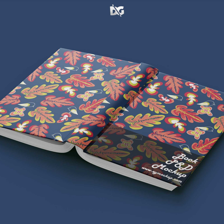 Book Cover PSD Mockup Design