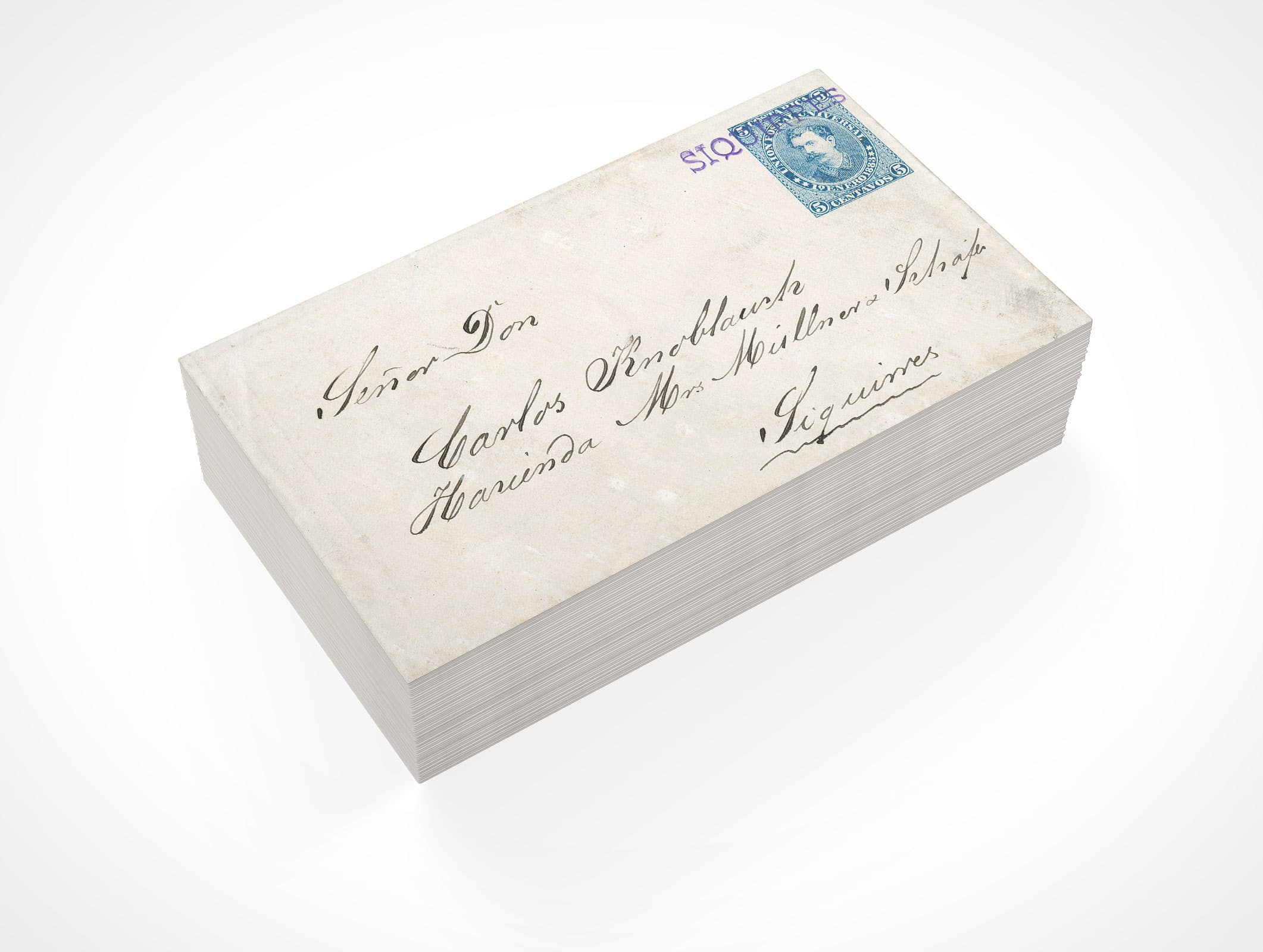 Customizable Mail Envelope