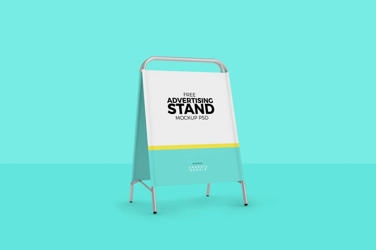 Folding Advertising Stand
