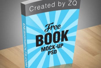 Book PSD Mockup for Making Your Book Design Work Easy