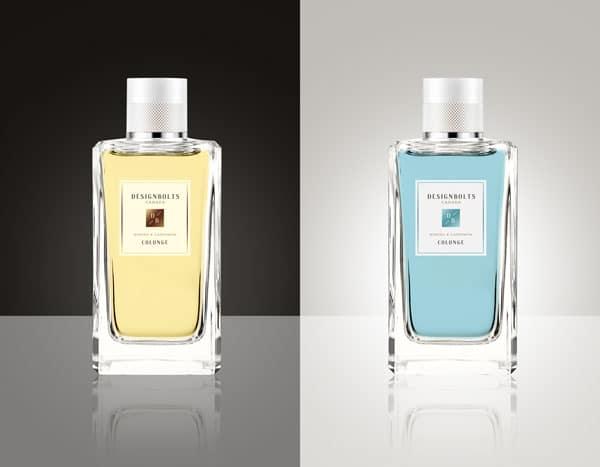 Realistic Perfume Bottle