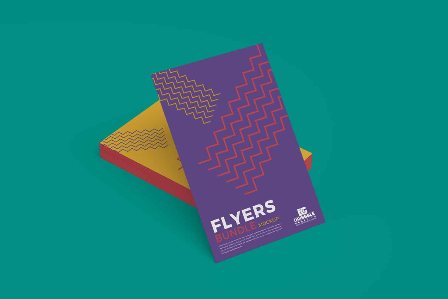 Flyers Bundle PSD Mockup Design