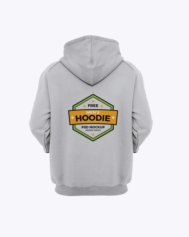 Download Free Cool Mens Hoodie Mockup in PSD - DesignHooks