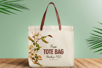 Cotton-Made Tote Bag PSD Mockup