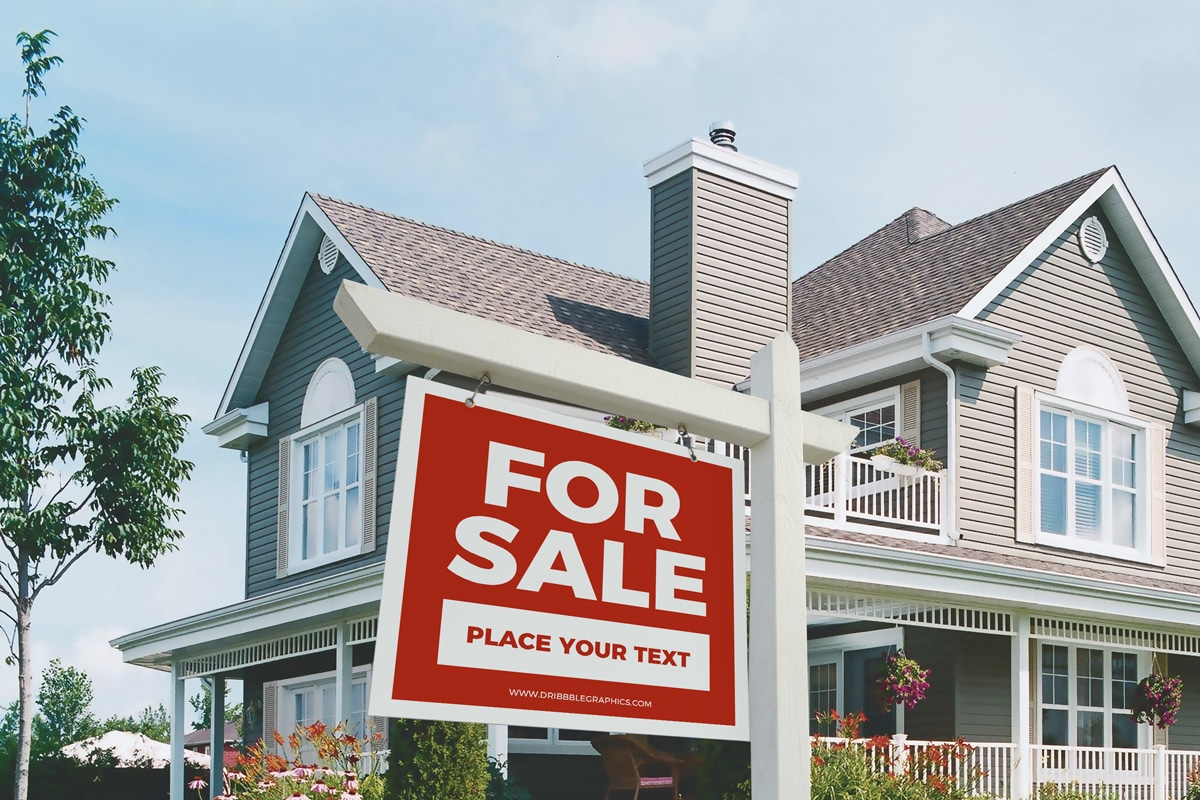 Real Estate Signboard