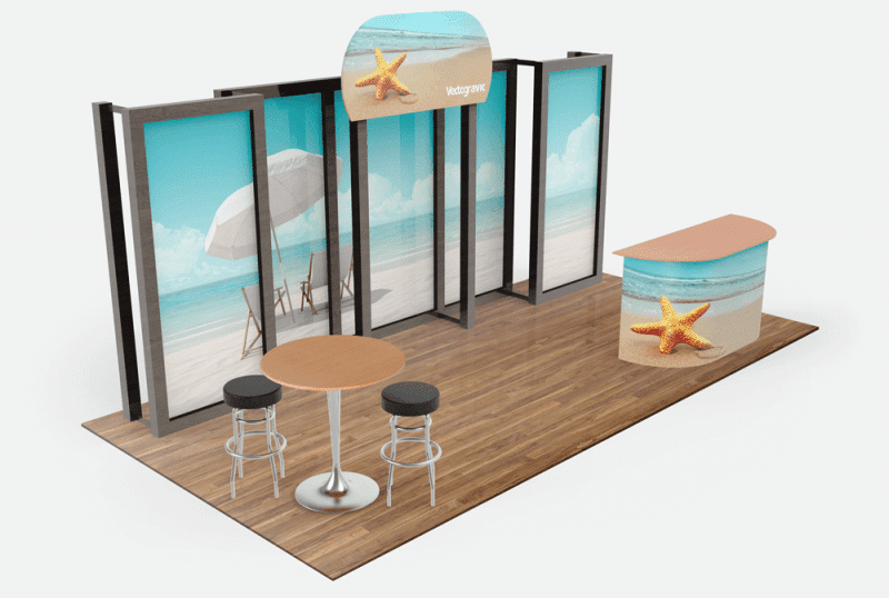 Awesome Tradeshow Booth