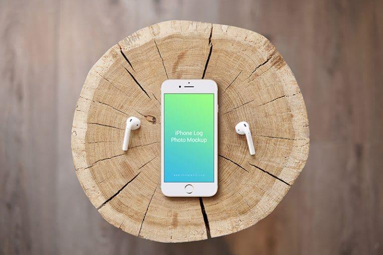 iPhone Plus Log