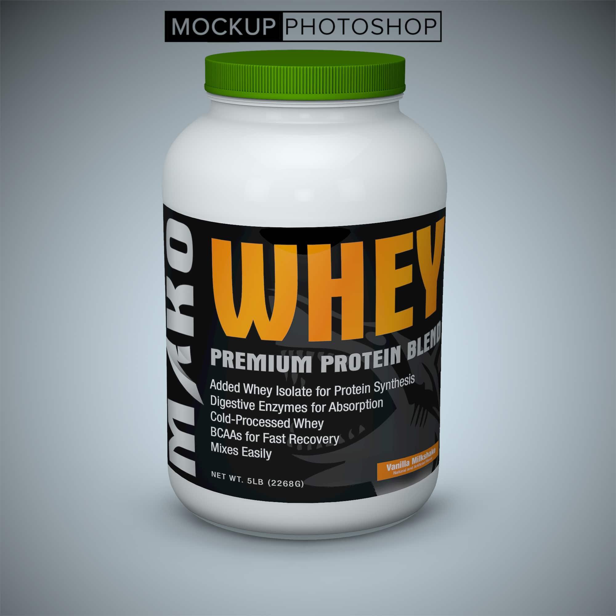 Protein Bottle Label