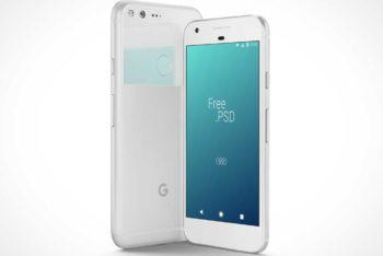 Free Google Pixel Smartphone Mockup