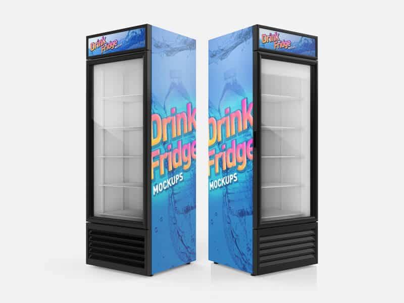 Drink Fridge Vending Machine