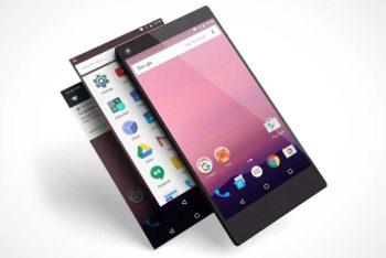 Free Isometric Smartphone Design Mockup