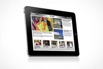Free First Generation iPad Mockup