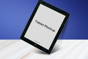 Exclusive Apple Tablet PSD Mockup