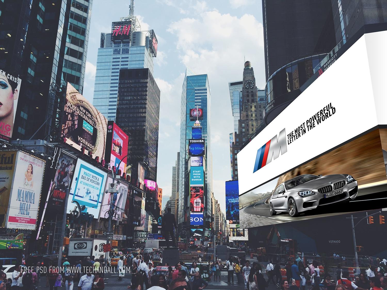 New York Times Square Billboard