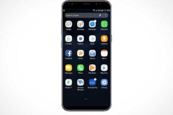 Free Samsung Galaxy Smartphone Mockup