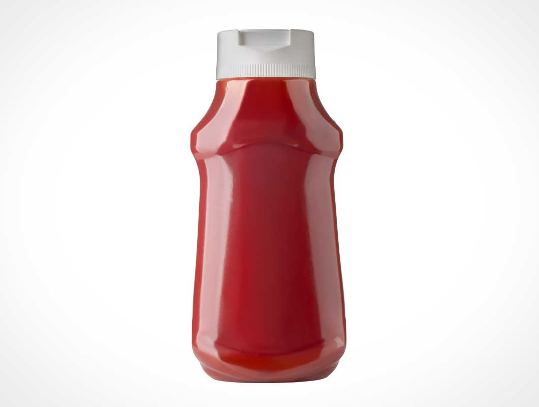 Plastic Ketchup Container