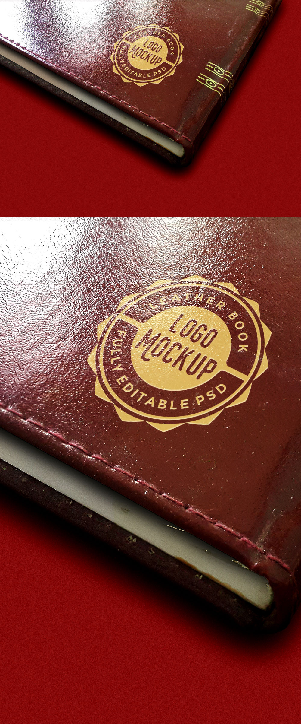 Vintage Leather Book