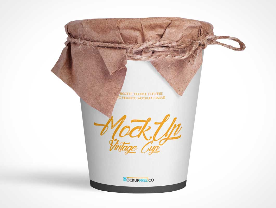 Vintage Noodle Cup