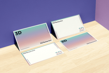 Free Business Card PSD Mockup for Branding Purposes
